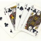 p-c 10 SEALED PACK BRIDGE BLACKJACK HOLDEM POKER PLAYING CARDS DECK DRINKING GAMES FREE U.S. POST