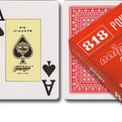 p-c NEW SEALED FOURNIER 818 JUMBO INDEX RED OR BLUE POKER ORIGINAL PLAYING DECK CARD FREE U.S. POST