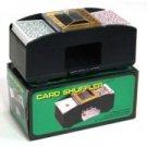 p-c NEW 1 - 2 DECKS PLASTIC SHUFFLING PLAYING CARDS POKER SHUFFLER AUTOMATIC MACHINE FREE U.S. POST