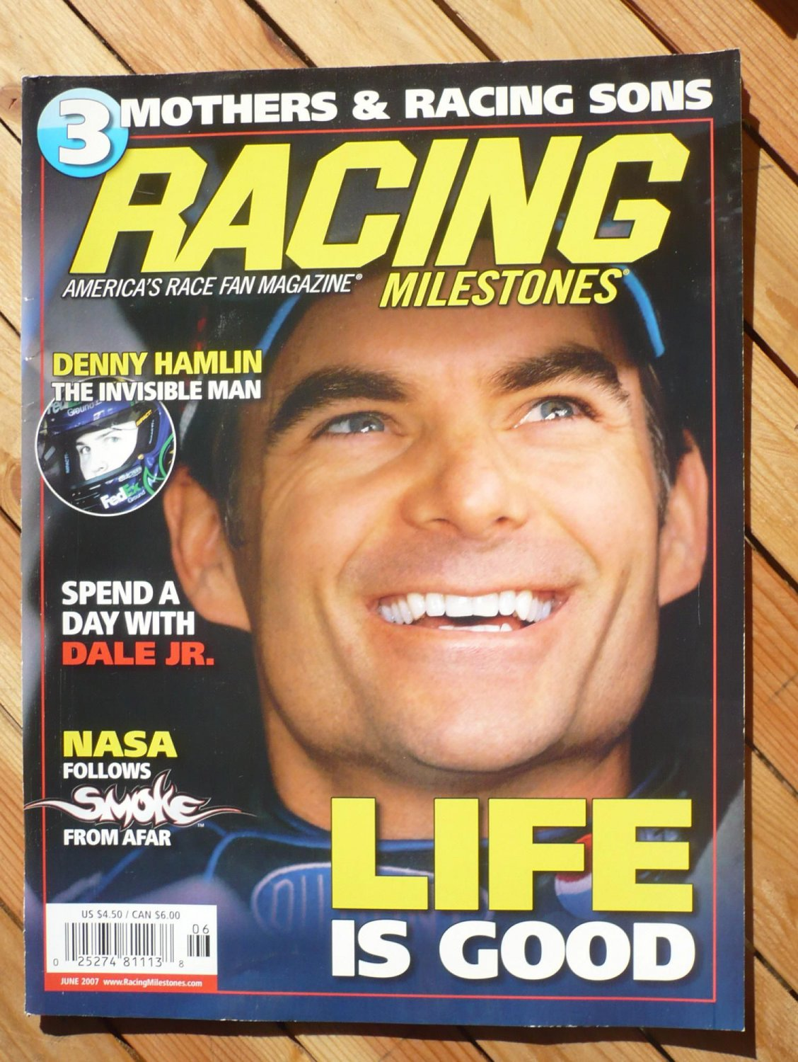 RACING MILESTONES magazine : June 2007
