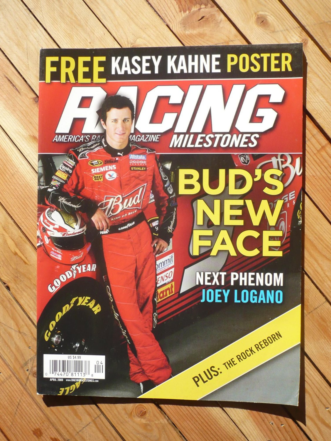 RACING MILESTONES magazine : April 2008
