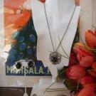 Vintage Estate Danecraft Sterling Necklace, earrings and Sorrento Sterling Bracelet