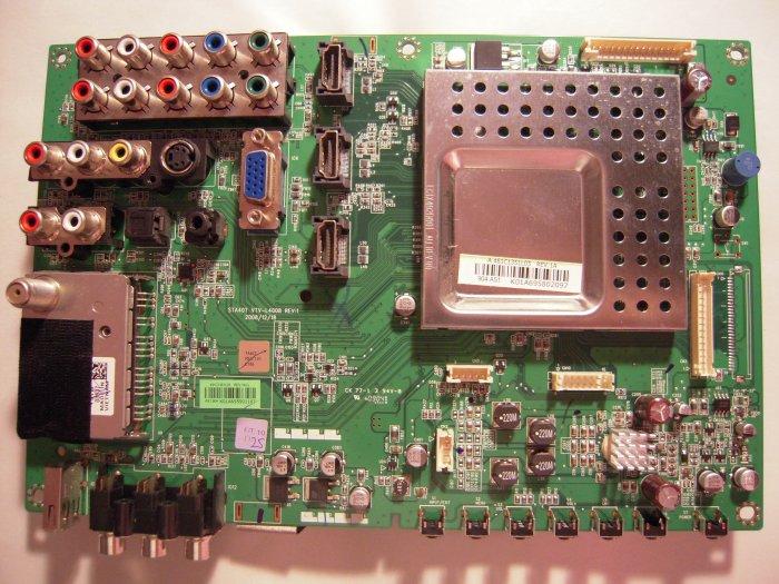 STA40T VTV-L4008 Rev.1, 75014225, 75014872, Main Board for Toshiba 40RV525R