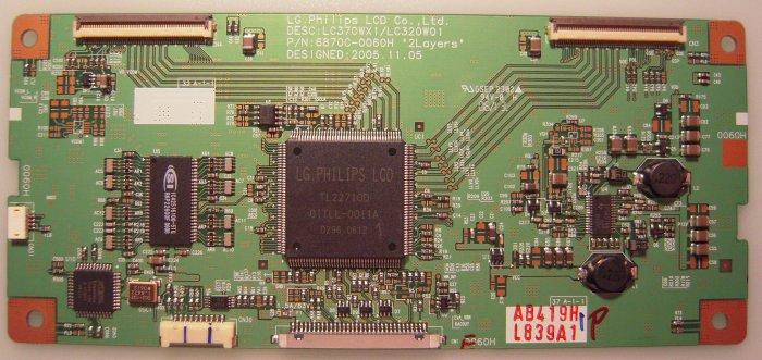 6870C-0060H T-Con Board For LG,Vizio,RCA,Olevia,Sony