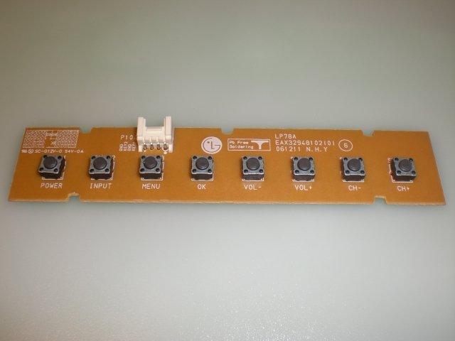 KEY CONTROLLER BOARD EAX32948102(0) for LG 37LC7D-UB AND OTHERS LG MODELS