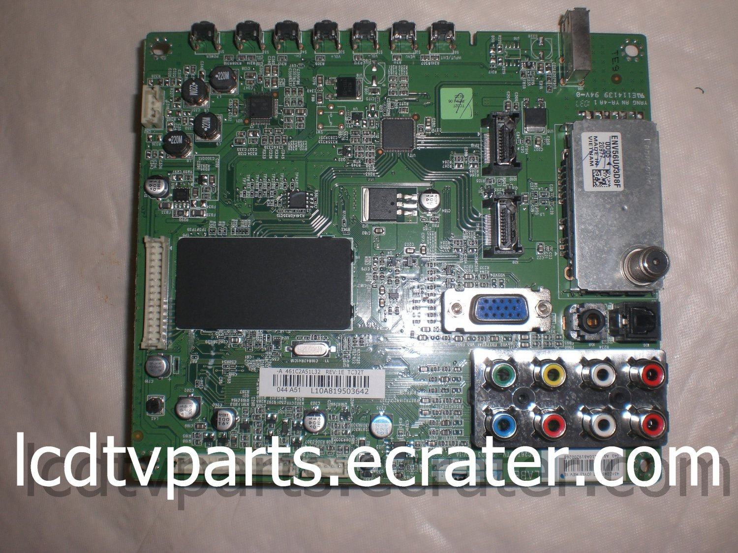 75018047, STC26T VTV-L26603 REV:1A, L10A819503642, Main Board for TOSHIBA 32C100U1