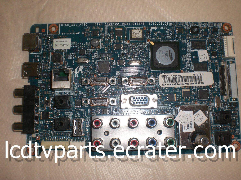BN94-02700G, BN41-01334B, BN36-14943A, BN97-04520A R3A, Main Board for SAMSUNG LN40C550J1FXZA