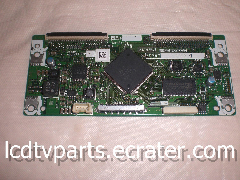 CPWBX4010TPXC, XE707WJ, KE707, T-Con Board for SHARP LC-46D65U, LC46D65U