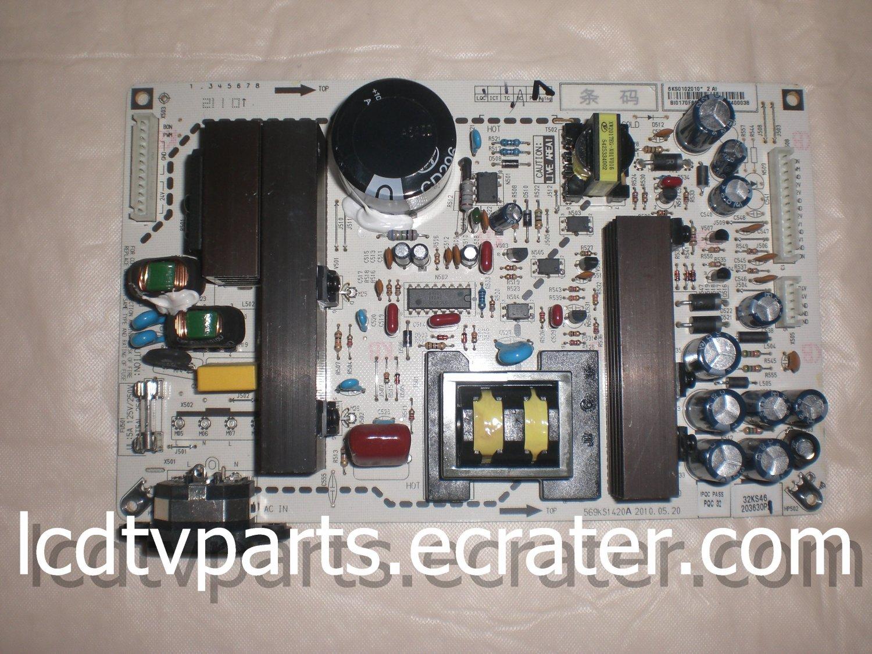 6KS0102010, 569KS1420A, PQC 32, BIO170F6E9 EH20363400038, Power Supply for DYNEX DX-32L151A11