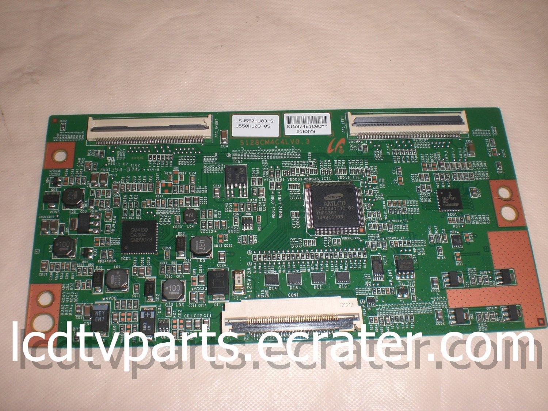 LJ94-15974E, BN96-16491A, S128CM4C4L V0.3, LSJ550HJ03-S,T-Con Board for SAMSUNG UN55D6000SF