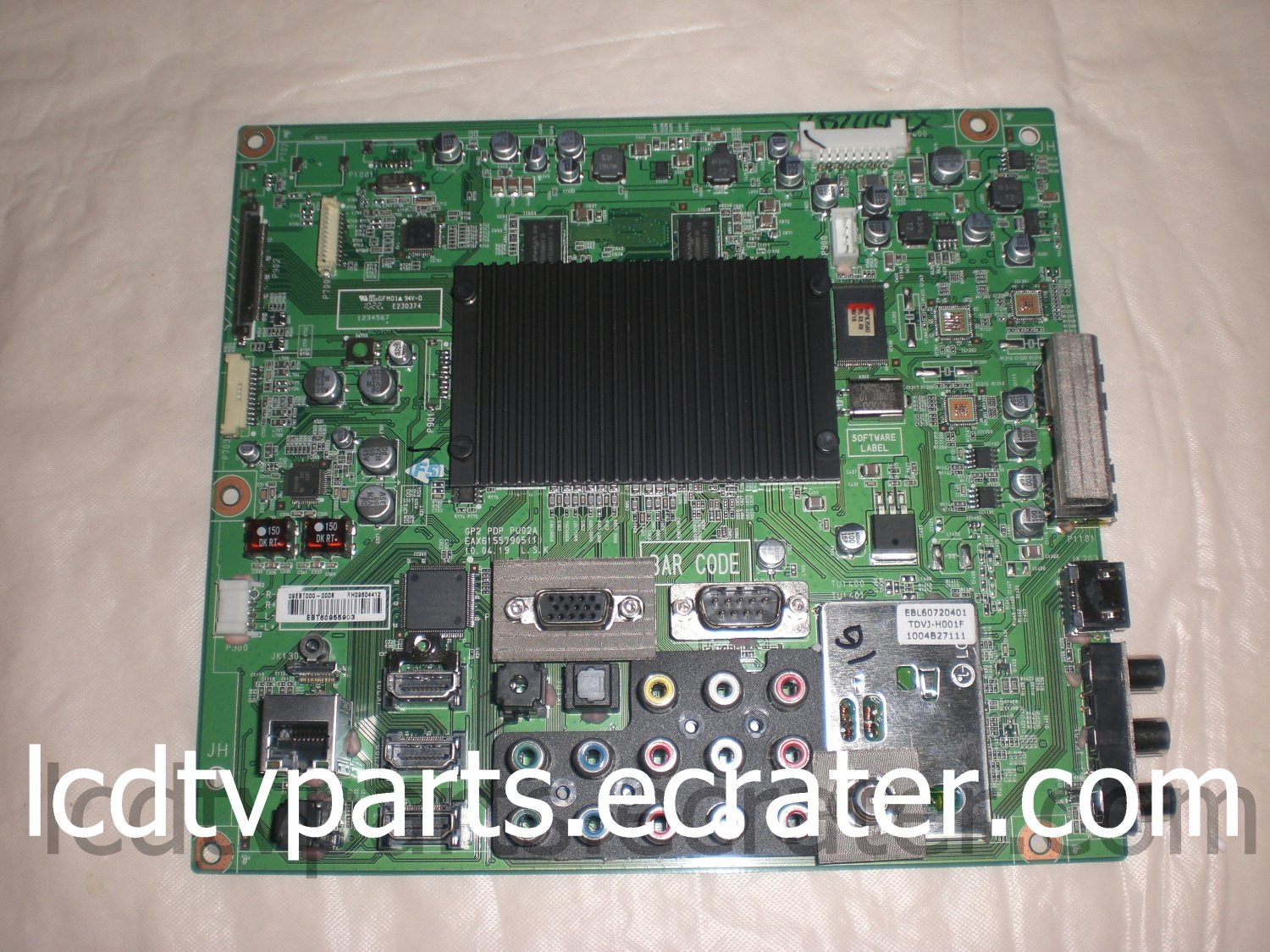 EAX61557905(1), EBT60955903, Main Board for LG 50PK750