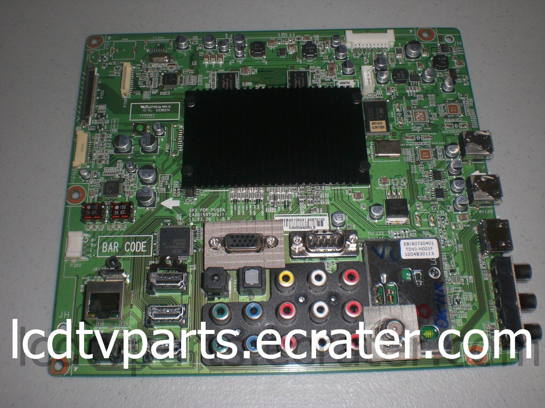 EBR60870105, EAX61557904(1), GN056600L8, Main Board for LG 60PK750