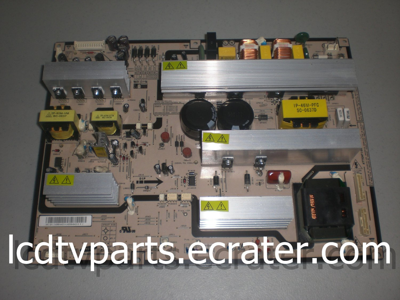 IP-350135A, BN44-00141A, Power Supply for SAMSUNG LNS4695DX/XAA