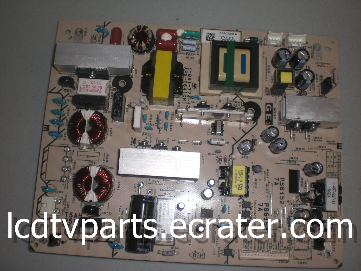 1-474-218-11, APS-272(CH), 1-881-774-12, APS-264(CH) , Power Supply for SONY KDL-40EX600