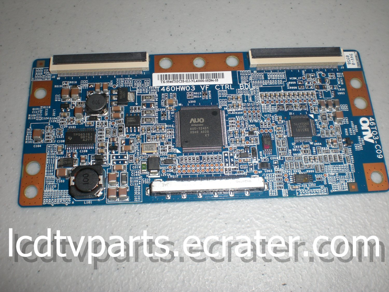 55.46T03.C33, BN81-04413A. 460JW03 VF CTRL BD, 46T03-C09, T-Con Board for  SAMSUNG LN46C550J1FXZA