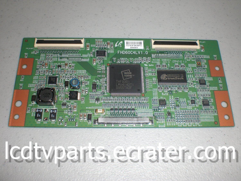 LJ94-02763F, FHD60C4LV1.0, T-Con Board for TOSHIBA 46RV525RZ