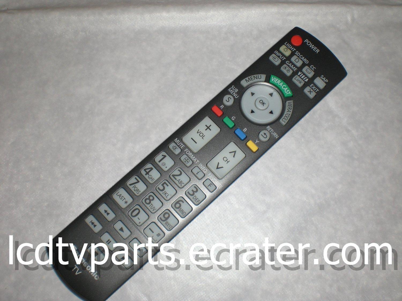 N2QAYB000486, N2QAYB 000486, Original Remote Control for PANASONIC TC-P50G25