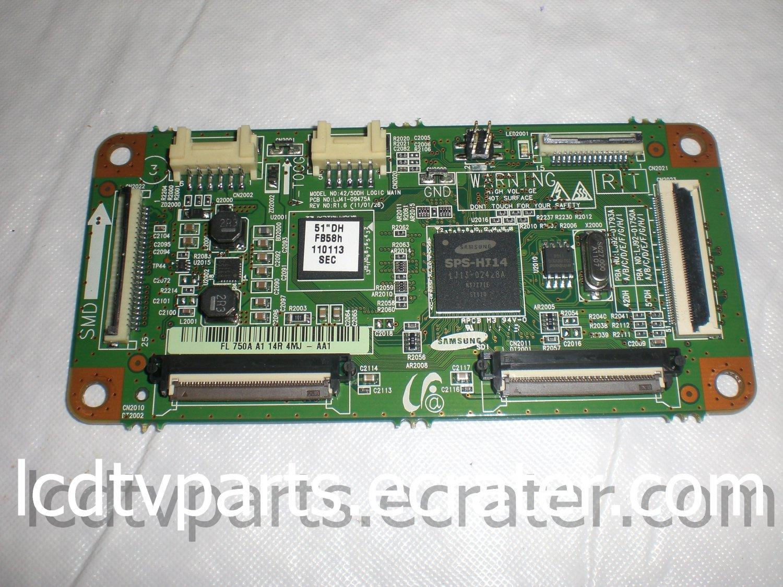 BN96-16513A, LJ92-01750A, FL750AA114R4MJ-AA1, T-Con Board for SAMSUNG PN51D440A5DXZA