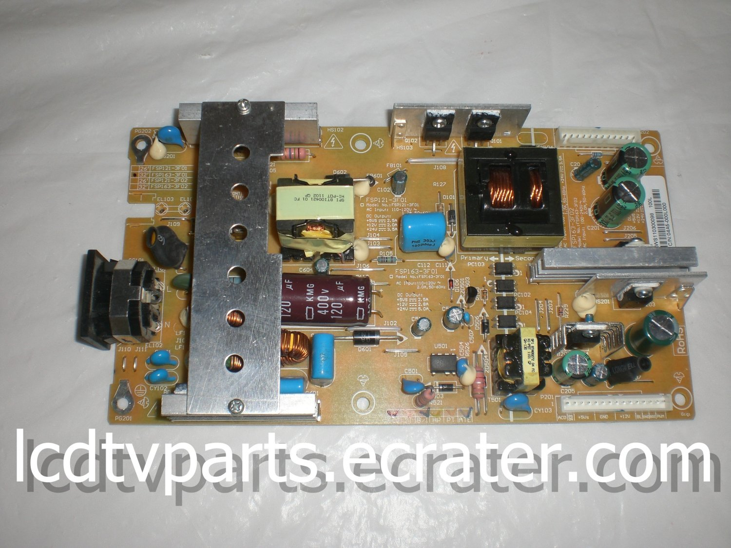 04A5-000L000, 3BS0184218GP, Power Supply for WESTINGHOUSE VR-4025