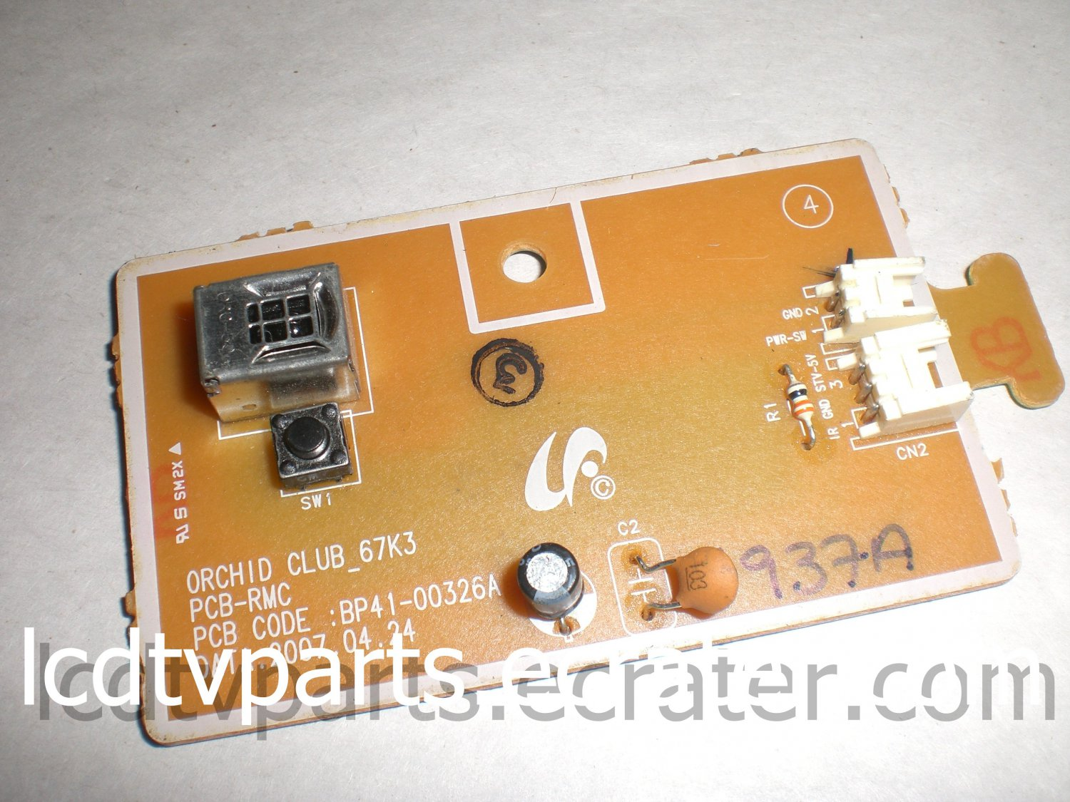 ORCHID CLUB_67K3, PCB-RMC, BP41-00326A , LED IR ASSY For SAMSUNG HL67A510J1F