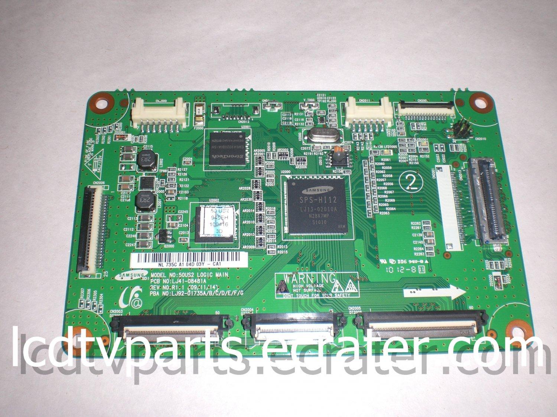 LJ41-08481A, LJ92-01735A, 50US2, T-Con Board for Samsung PN50C6500TFXZA