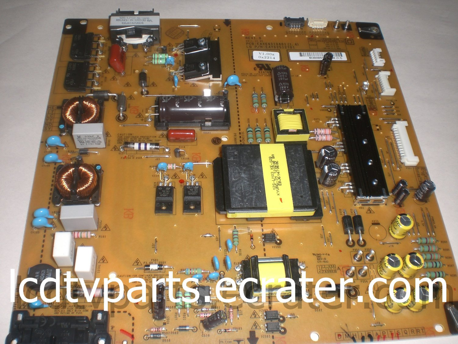 EAX64310401(1.4), EAY62512701, Power Supply for LG 47G2