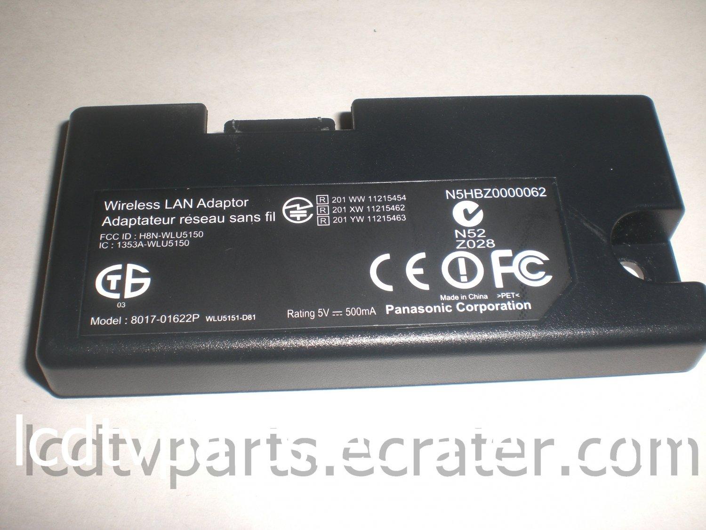 N5HBZ0000062, 8017-01622P, JG Board for WIRELESS LAN ADAPTOR for PANASONIC TC-P50ST50