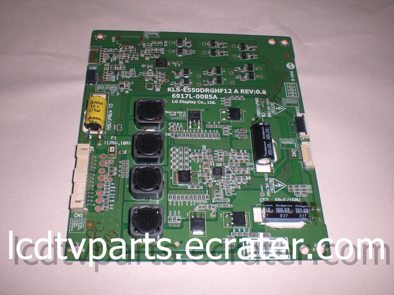 TNPA5602, 6917L-0085A, KLS-E550DRGHF12 A REV:0.8, LED Driver ASSY For PANASONIC TC-L55ET5