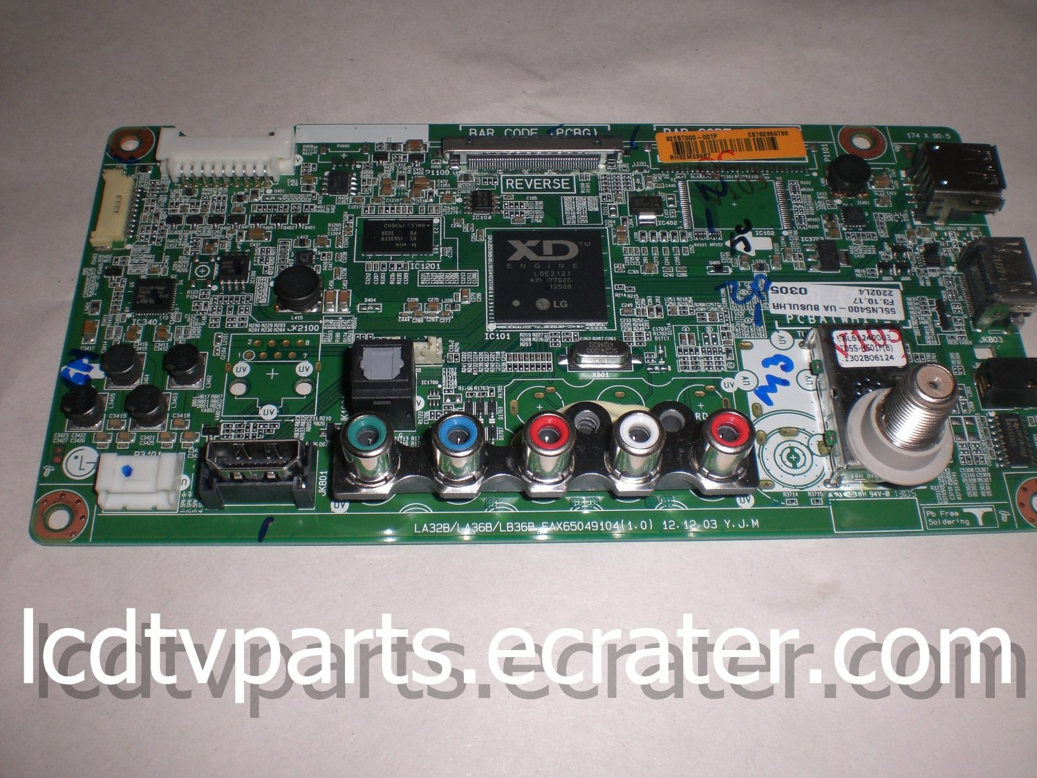 EAX65049104(1.0), EBT62359788, Main Board for LG 55LN5400