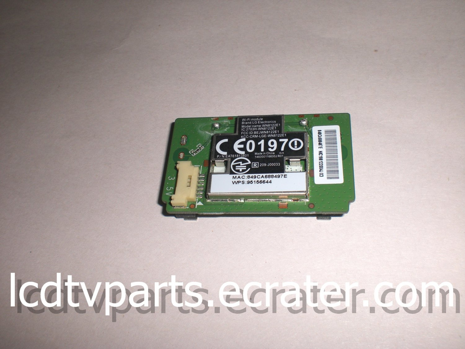 EAT61813801, WN8122E1,41481222005J R01, WIFI MODULE FOR LG 47LN5700