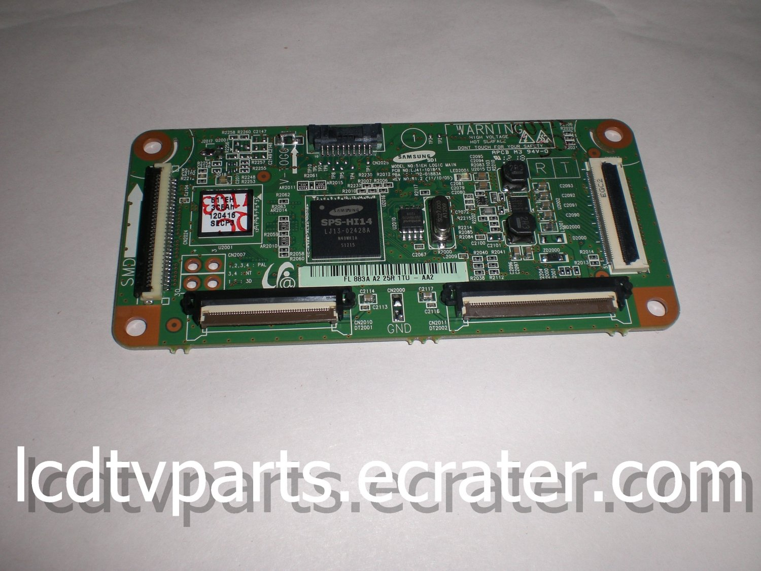 BN96-22085A, LJ41-10184A, LJ92-01883A, Logic Ctrl Board For SAMSUNG