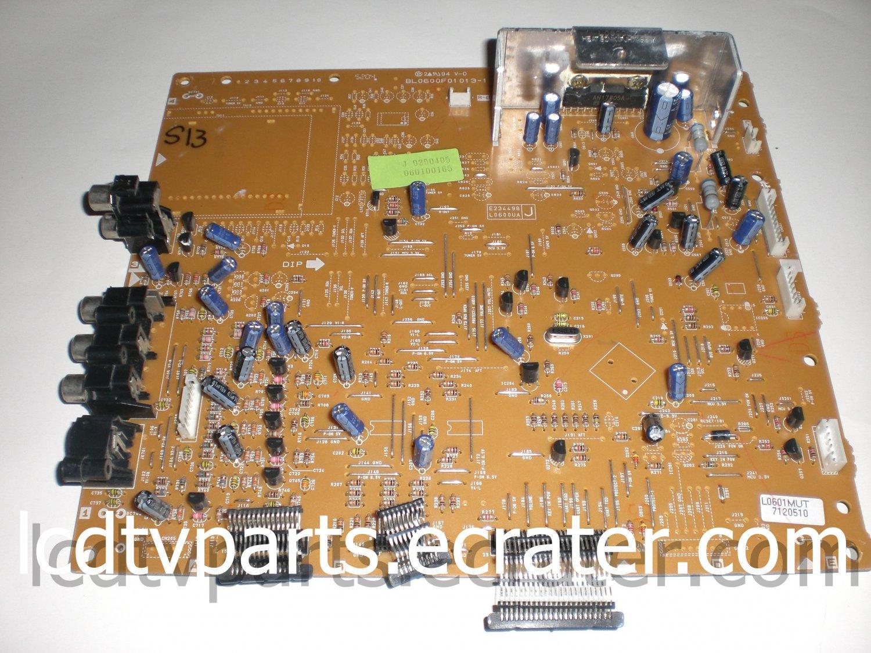 BL0600F01013-1, L0600MUT, MUT Board for Sylvania 6842PEA