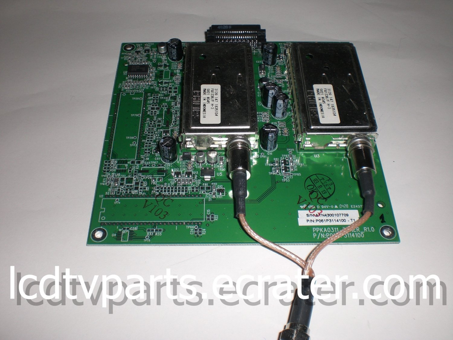 P061P3114100-T1, PPKA0311_Tuner_R1.0, ATN4300107709, Tuner Board for Olevia/Syntax LT27HV