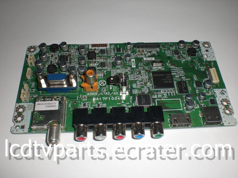 A17FAMMA-007, BA17F1G0401 Z_4_1, U9000UT, Main Board for MAGNAVOX 32MF301B/F7