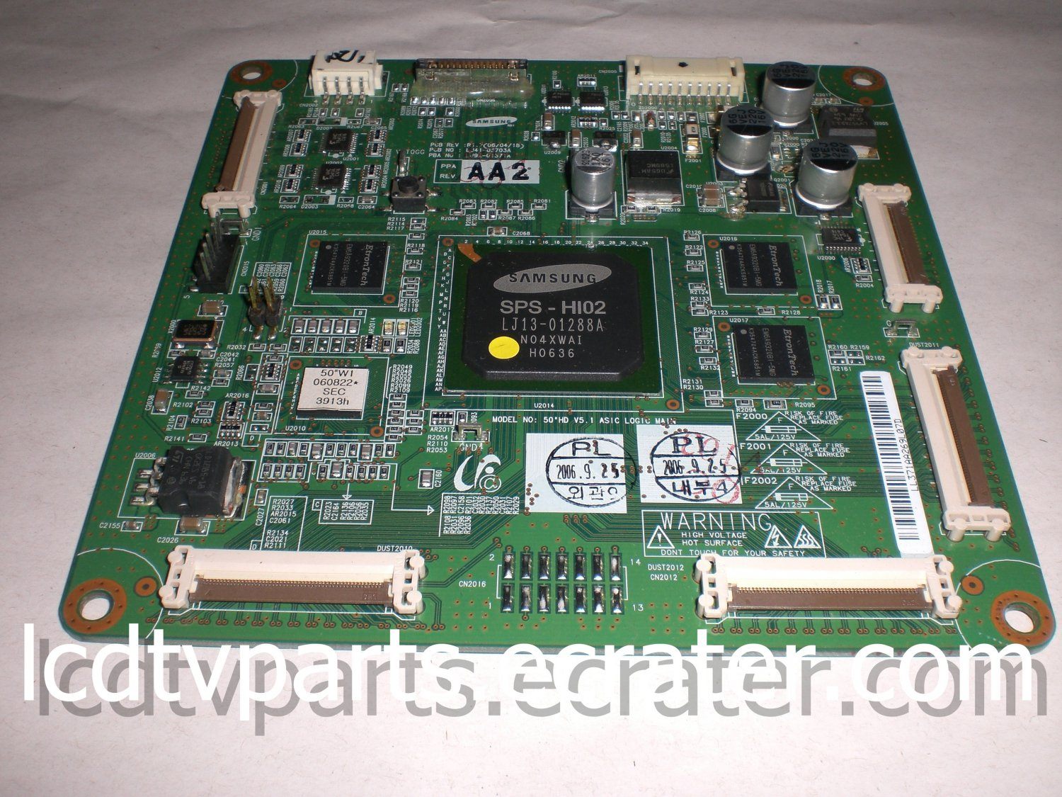 LJ41-03703A, LJ92-01371A, BN96-03366A, Main Logic CTRL Board for Samsung