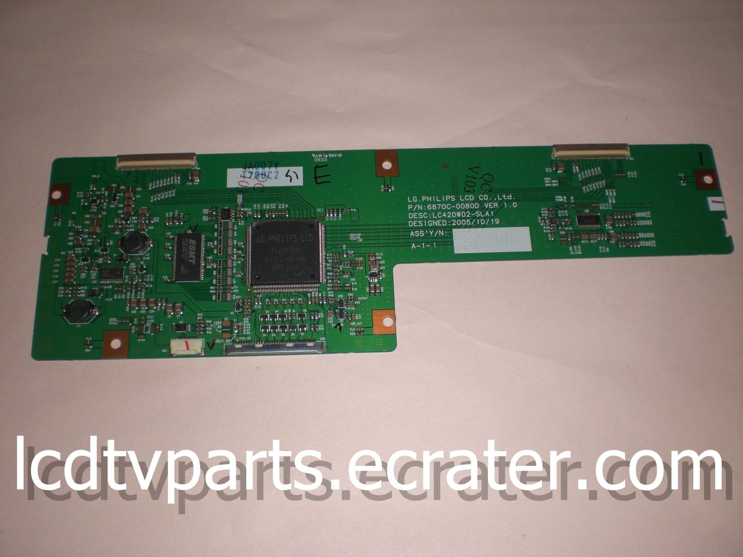 6871L-0780B, EAT40320001, 6871L-0780C, 6870C-0080D, T-Con Board For LG Philips