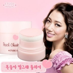 Etude Peach Cheek Blusher 4 G (Shipping: 5 Items can be combined together)