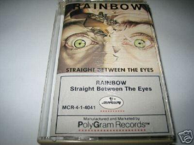 Straight Between The Eyes - Rainbow (Cassette)