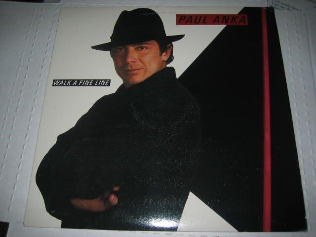 PAUL ANKA WALK A FINE LINE LP