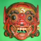 Bali Hindu Raksasa Mask  Gargoyle Demon Hand carved Medium 11 x 11 inch
