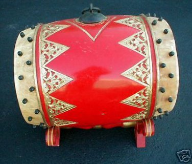 Gamelan Drum XL Bedhug Java Superb Quality Indonesia RARE and UNIQUE FOLK
