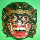 Bali Hindu Raksasa Mask  Gargoyle Demon Hand carved small 8.5 x 8 inch