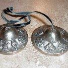 Tibetan Tingsha Tinksha  Tingksa 2.0 inch D Cymbals w/ OM MANE PADME HUM  Bell