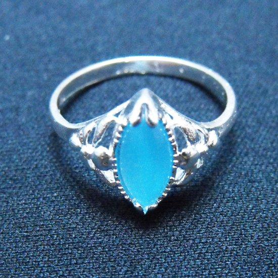 Cat's Eye Ring - Blue
