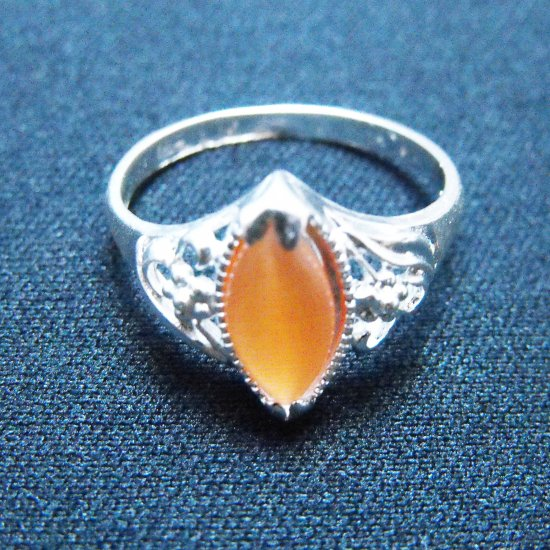 Cat's Eye Ring - Orange