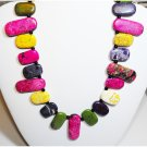 Multi Colored Turquoise Necklace