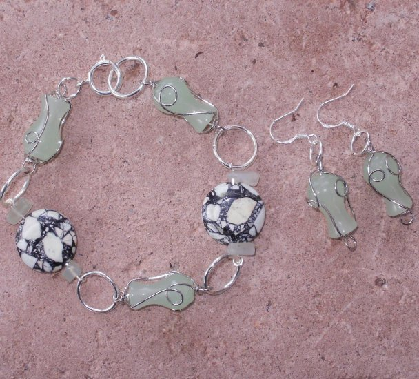 Turquoise And Jade Set