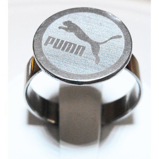 Puma Stainless Steel Ring (sz.9.5)