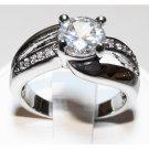 Women's Cubic Zirconia Ring (sz.8)