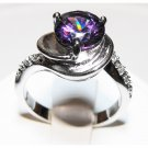 Women's Purple Cubic Zirconia Ring (sz.7)